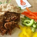 BBQ-Jackfruit with Wholemeal pita Belfast Catering Table - Vegan option