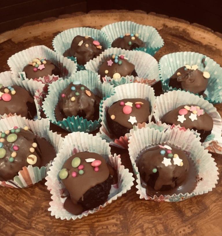 Oreo Truffles Baked Goods Belfast Catering Table