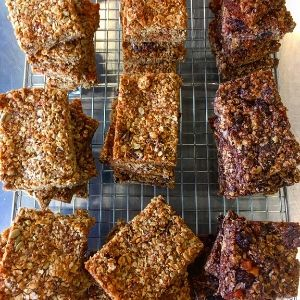 Granola Bars Sweet Treats Belfast Catering Events Table Outside Caterer