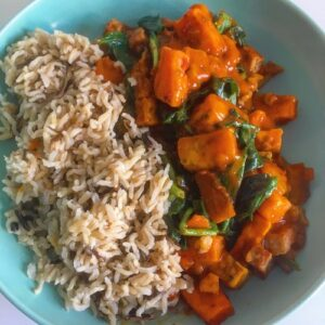 Sweet Potato and Tofu Curry