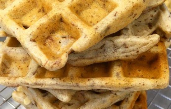 Cinnamon Waffle Recipe