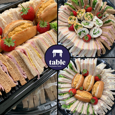 Sandwich Platters Corporate Catering Table Belfast Northern Ireland