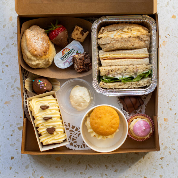 Classic Afternoon Tea Table Belfast Food Deliveries