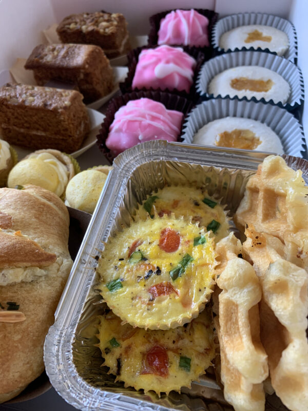 Brunch Box Catering Table Belfast Events Food Deliveries